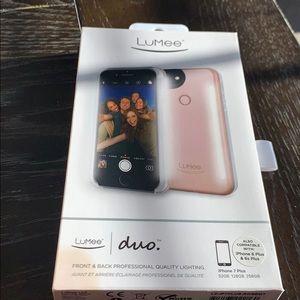 Lumee Duo Selfie Light - Rose Gold